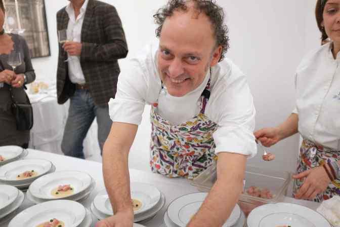 A tu per tu con Moreno Cedroni, chef della Madonnina del Pescatore di Senigallia
