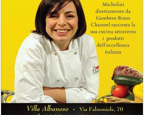 La chef del Gambero Rosso Adelaide Michelini a Palermo per una cena d'autore